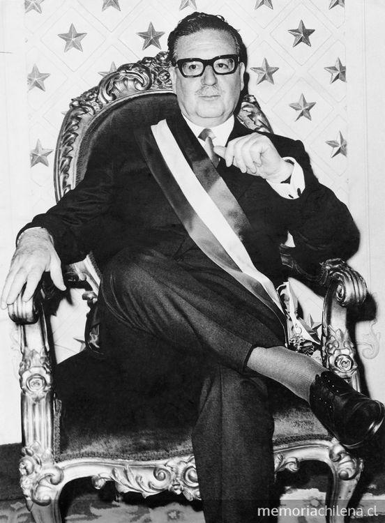 Presidente Salvador Allende en Memoria Chilena